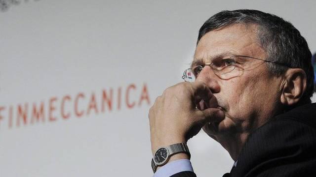 Wirft das Handtuch: Giuseppe Orsi, Chef von Finmeccanica (Archiv)