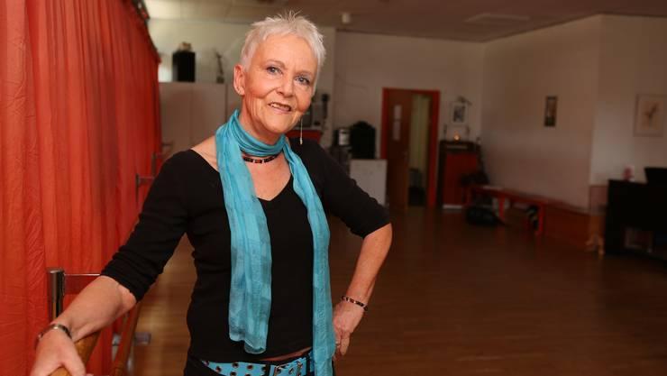 Die 67-jährige Annemarie Knobel Paterno blickt auf 42 Jahre ihres Ballettstudios zurück.