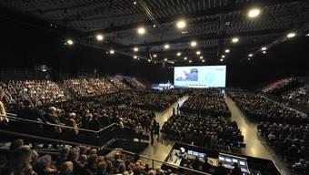 Die 26.Versammlung der BLKB-Zertifikatsinhaber findet in der St.Jakobshalle statt.
