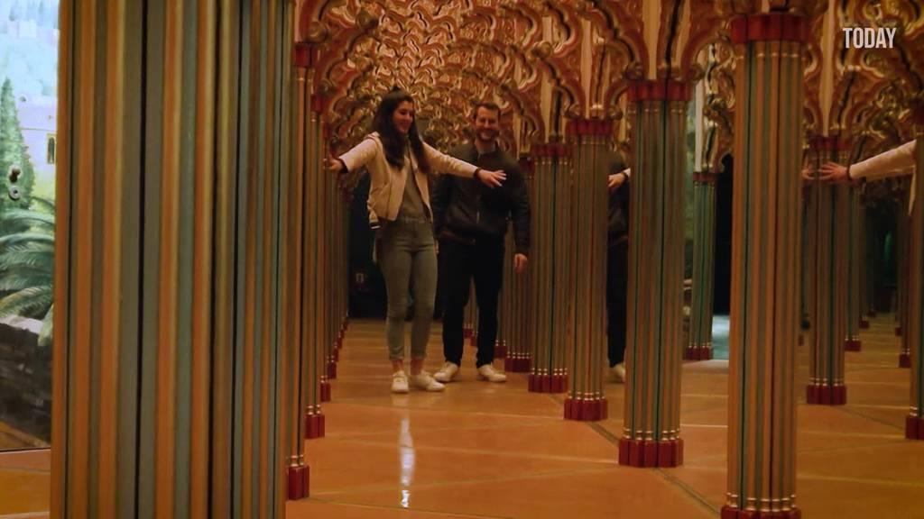 Spiegellabyrinth öffnet neue Pforte