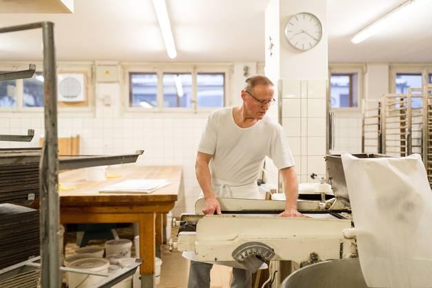 In der Bäckerei Confiserie Amrein in Willisau werden die berühmten Willisauer Ringli nach geheimem Rezept hergestellt.