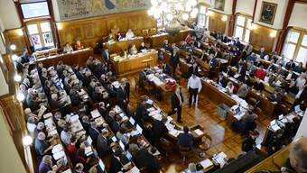 Einzig die SVP lehnte das neue Gemeindegesetz geschlossen ab. (Archiv)