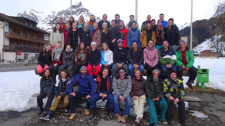 Die Teilnehmer vom Skiweekend 2019
