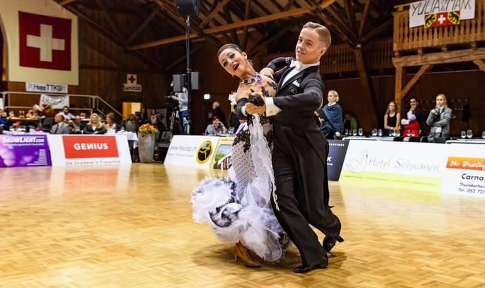 Haben an der Schweizermeisterschaft abgeräumt - Philipp Hofstetter und Natalie Cremar