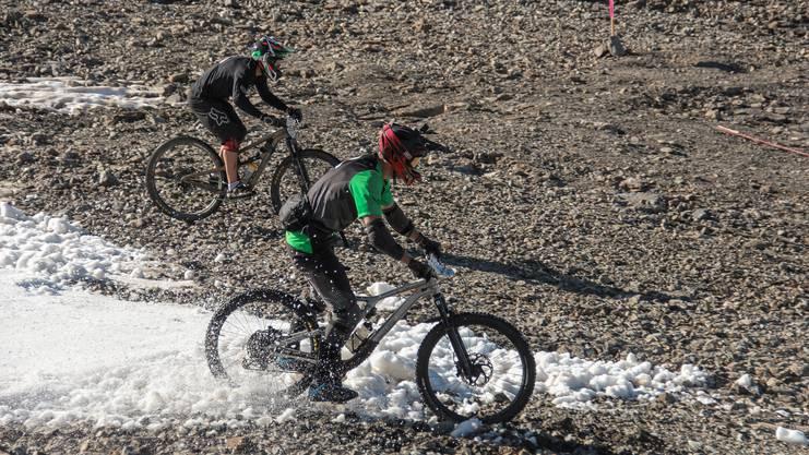 Petr Mondrik (31) fuhr in 2,5 Wochen drei der weltgrössten Enduro- und Downhill-Bikerennen in Frankreich: Mountain of Hell, einen Weltcup und Megavalanche