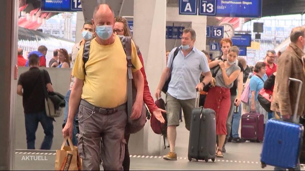 Freiwillig eine Maske zu tragen, ist für viele Schweizer kein No-Go