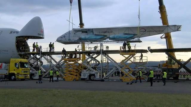 Solar Impulse zurück in der Schweiz