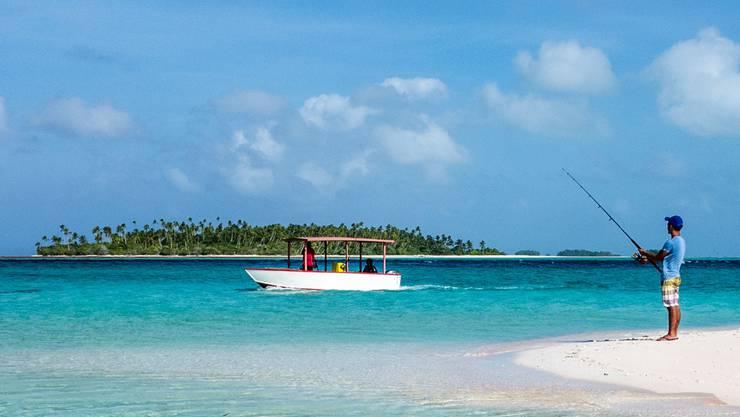 Trügerische Idylle: Kiribati droht unterzugehen.