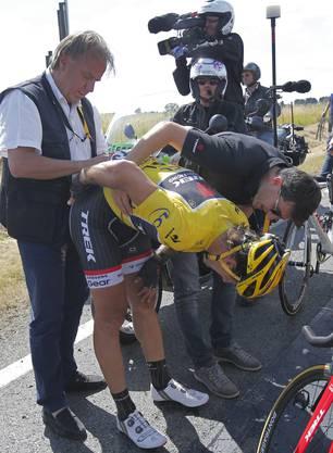 Cancellara brach sich zwei Lendenwirbel.