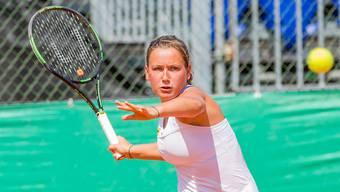 Im letzten Sommer konnte die Schweizerin Ylena In-Albon die Swiss Junior Trophy in Oberentfelden zum zweiten Mal in Folge gewinnen.