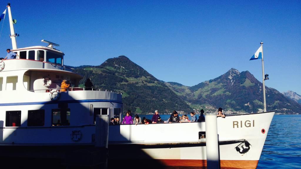 Kinderschiff auf dem Vierwaldstättersee