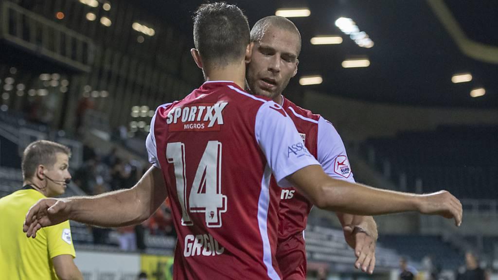 Sion gewinnt bei schwer angeschlagenem FC Luzern