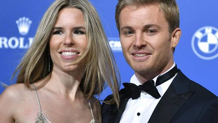 Formel-1-Weltmeister Nico Rosberg könnte sich nach seinem Rückzug eine Filmkarriere vorstellen. Auch zehn bis elf Kinder möchte er noch kriegen - seine Frau eher weniger. (Arhivbild)
