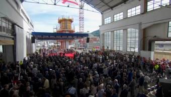 In Genua hat die Trauerfeier für die 43 Todesopfer begonnen.