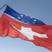Flagge Schweiz EU