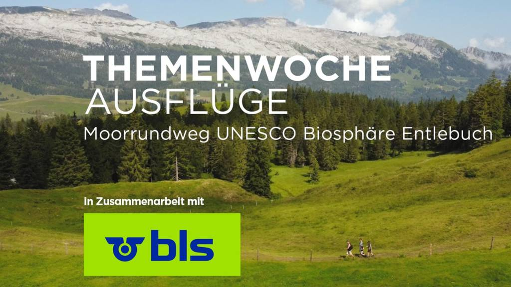 Expedition durch das Moor der UNESCO Biosphäre Entlebuch