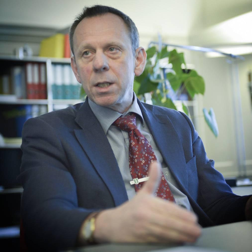 Bruno Zanga ist Kommandant der St.Galler Kantonspolizei. (Ralph Ribi/St.Galler Tagblatt Archiv)