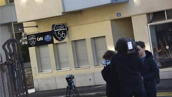 Im März 2017 wurden im Café 56 an der Basler Erlenstrasse zwei Männer erschossen. bz/archiv