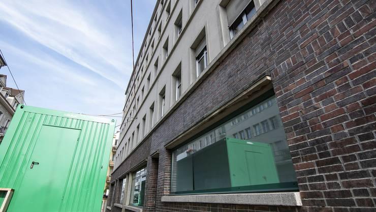 Hier kommt die Filiale des Universitätsspitals Basel zu stehen: An der Inneren Margarethenstrasse in Basel.