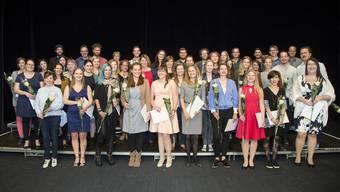Die frisch gebackenen Bachelors in Sozialer Arbeit konnten in Olten ihre Diplome entgegennehmen.