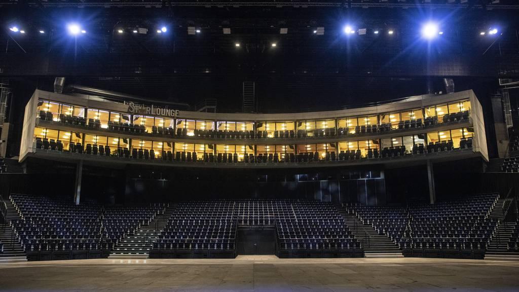 Hallenstadion plant seine Wiedereröffnung