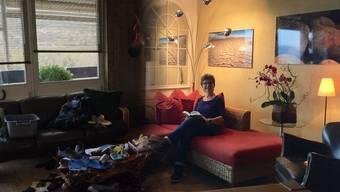 «Der Bestatter»: Barbara Erb hat ihre Wohnung in der Telli Aarau für die Dreharbeiten, sie dient als Wohnung von Reto Doerig.
