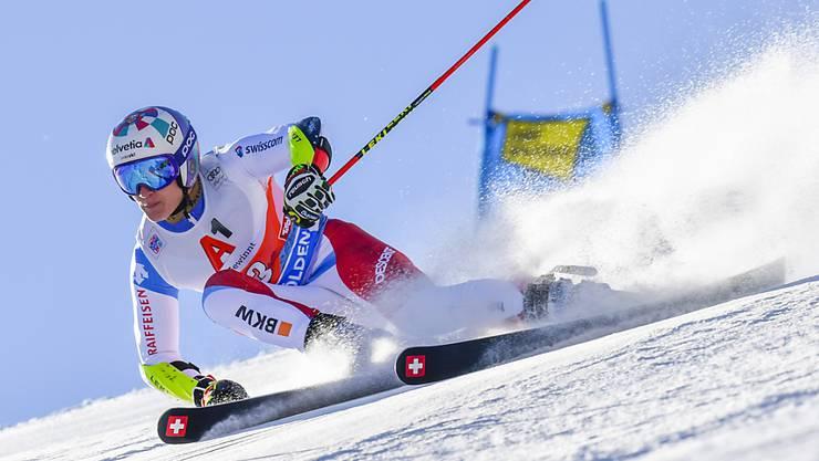 Marco Odermatt hat mit Sölden noch eine Rechnung offen: 2019 war er nach dem ersten Lauf noch auf Podestkurs, am Ende reichte es ihm jedoch nicht in die Top 10