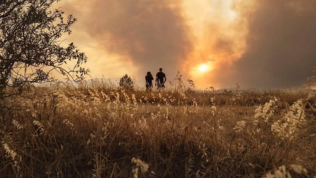 Mehr als 1'000 Menschen kämpfen gegen Brand in Südfrankreich