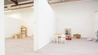So präsentierten sich an der Eröffnung die YouKita-Räumlichkeiten im Industriequartier von Luterbach.