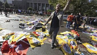 Schwere Explosionen im Zentrum Ankaras