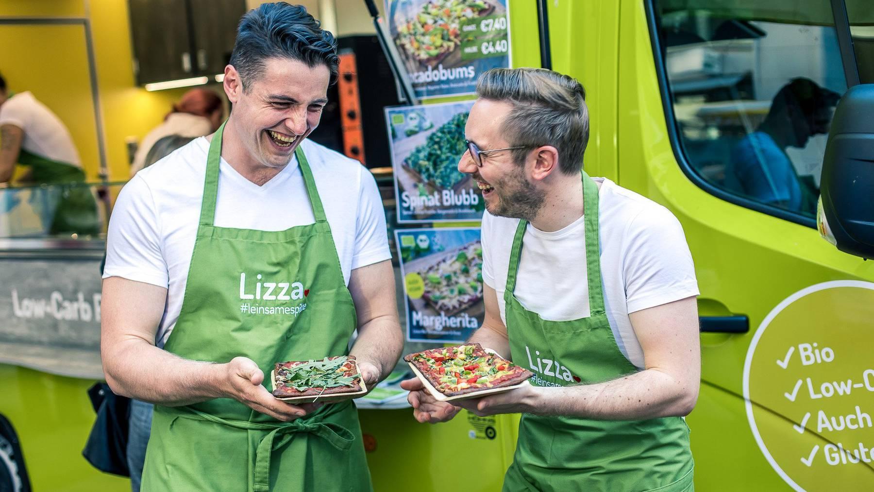 Die Lizza-Gründer Matthias Kramer und Marc Schlegel