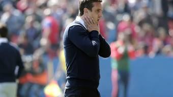Mit Valencia alles andere als erfolgreich: Trainer Gary Neville