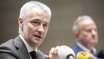Fabrice Zumbrunnen, der Chef des Migros-Genossenschafts-Bundes, rechnet im NZZ-Interview trotz Coronakrise mit einem besseren Jahresresultat.