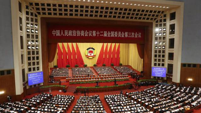 Der chinesische Volkskongress stimmt fast einstimmig (Archiv)