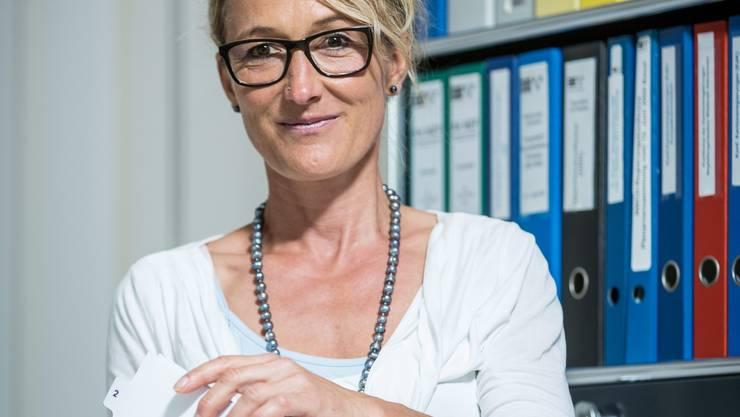Susanne Hochuli, noch bis Ende Jahr Vorsteherin des Departementes Gesundheit und Soziales