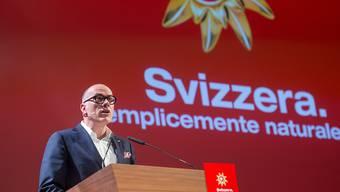 Jürg Schmid, Direktor von Schweiz Tourismus, erhält künftig einen maximalen Fixlohn von 313'000 Franken. So will es der Bundesrat. (Archivbild)