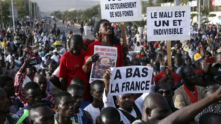 Am 15. November 2019 hatten die Leute in Bamako schon protestiert.