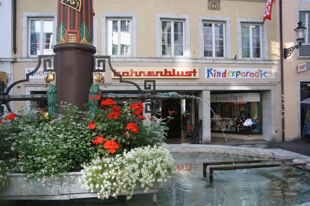 Der Baby-Shop zieht als «Kinderladen ELF.» auf Anfang 2019 in den verlassenen Schild.