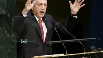 Vor der UNO-Vollversammlung: der türkische Präsident Erdogan