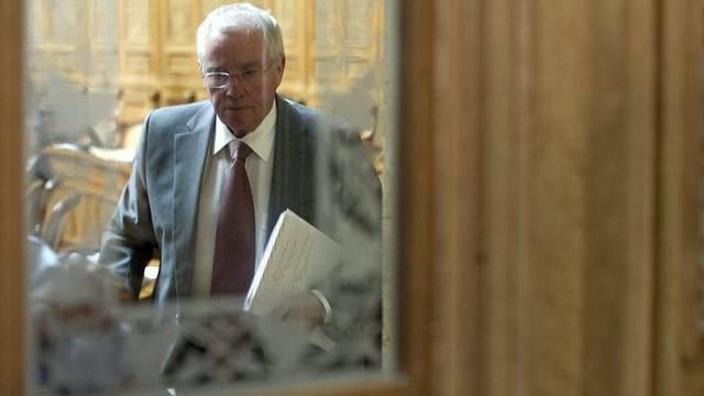 Christoph Blocher im Nationalratssaal (Archiv)