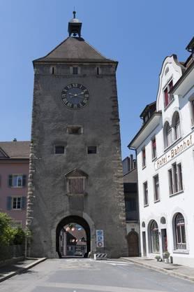 Der Wasenturm mit dem Wasentor steht am Eingang zur Altstadt.