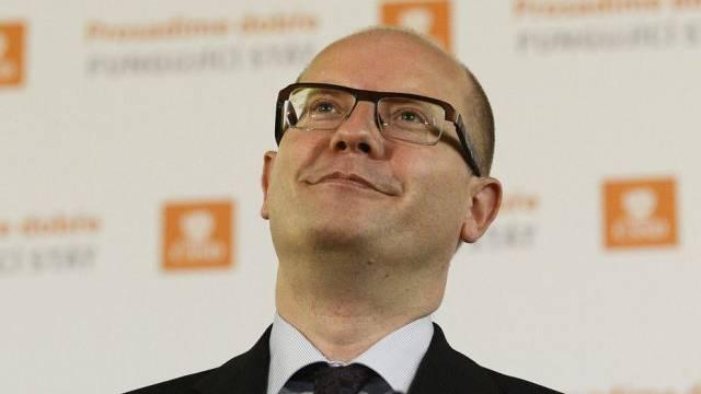 Der Chef der Sozialdemokraten Bohuslav Sobotka (Archiv)