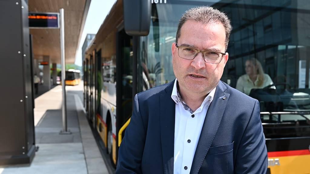 Erster Postauto-Batteriebus der Nordwestschweiz in Betrieb