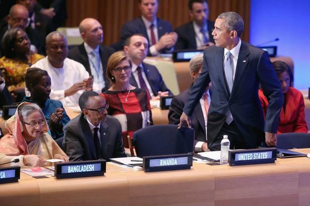 Obama bei der UNO-Vollversammlung