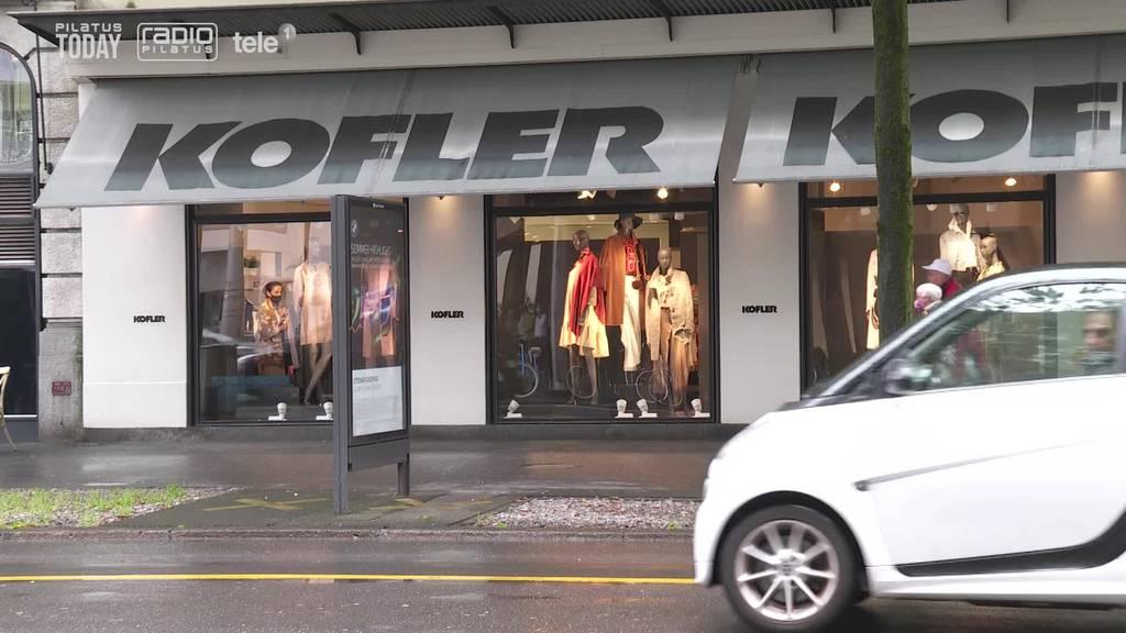 Luzerner Modehaus Kofler schliesst – Über 100 Mitarbeitende müssen gehen