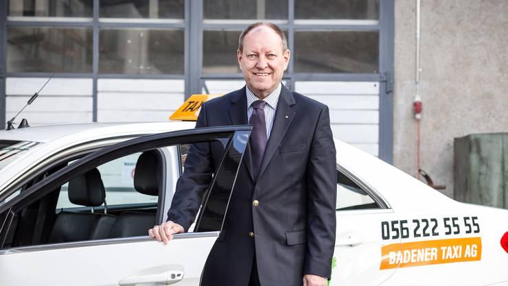 Roland Wunderli, Geschäftsführer Badener Taxi AG: «Unser Hauptstandplatz am Bahnhof Baden wird in unhaltbarer Weise benachteiligt.»
