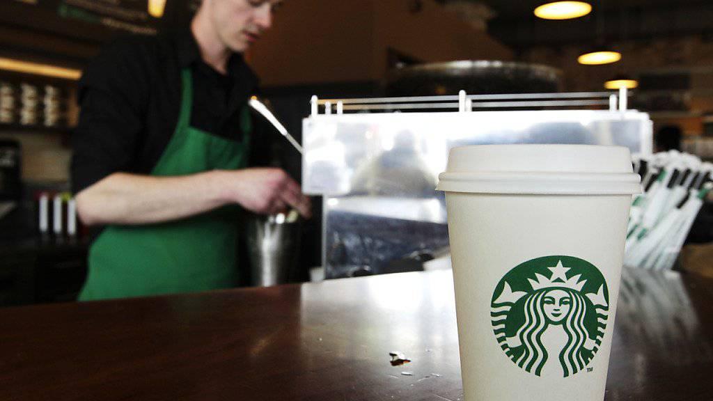 Starbucks erreichte das profitabelste Quartal seiner Unternehmensgeschichte (Archiv)