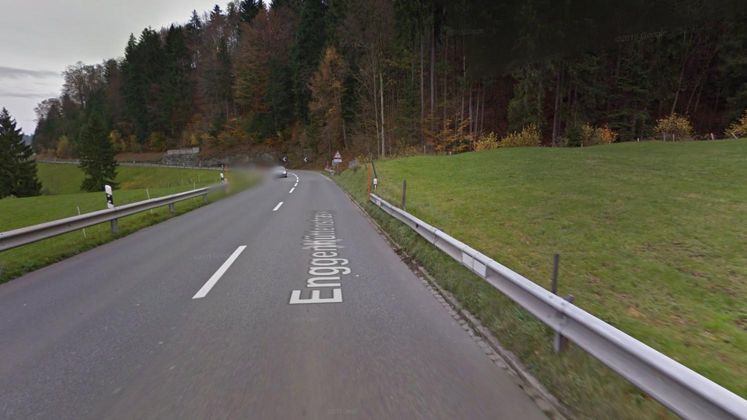 Auf der Strecke zwischen Appenzell und Hundwil ist ein Töff verunfallt.