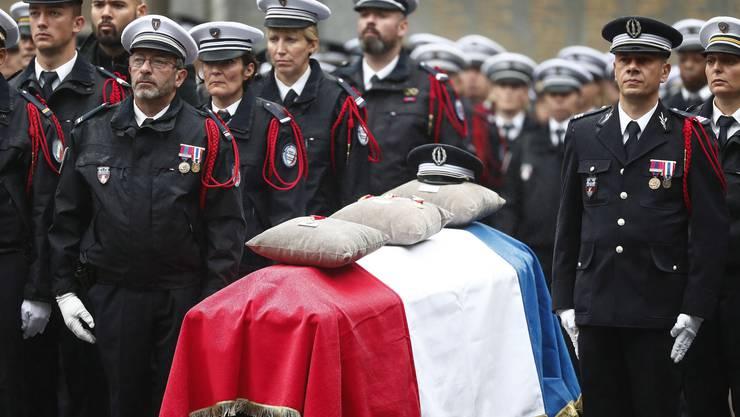Die Opfer des Terroranschlags wurden am Dienstag in Paris geehrt.