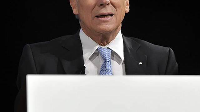 Economiesuisse-Präsident Gerold Bührer